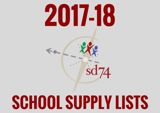 2017-18 School Supply Lists