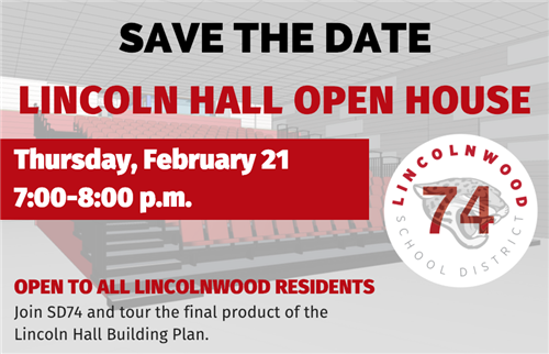 Lincoln Hall Open House: February 21