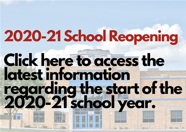 2020-21 School Reopening Information & Town Hall Presentations